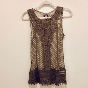 NWT A'REVE Sheer Top